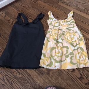 Odille FEI Anthro Size 4 Lot of 2 Dresses